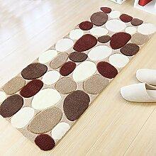 Xnxn Bettvorleger, einfache Teppiche für das