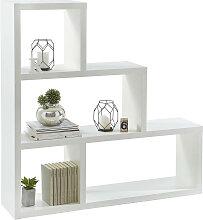 Xora RAUMTEILER , Weiß , 123.9x123.9x29 cm ,