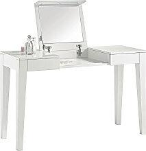 Xora SCHMINKTISCH Weiß , 125x120x45 cm