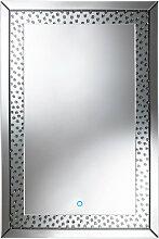 Xora SPIEGEL , Glas , rechteckig , 80x120x4.8 cm ,