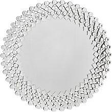 Xora WANDSPIEGEL , Glas , rund , 100x100x2 cm ,