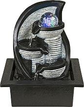 Xora ZIMMERBRUNNEN , Grau, Kunststoff, 17.5x25.5 cm