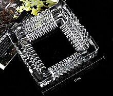 XOYOYO Crystal Clear Glas Aschenbecher
