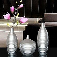 XOYOYO Die Silberne Vase Dekoration Dekoration
