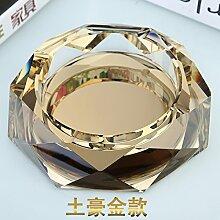 XOYOYO Einfache, Moderne Glas Aschenbecher,