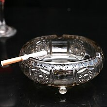 XOYOYO Europäische Kristall Glas Aschenbecher