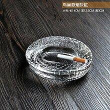 XOYOYO Kristall Glas Aschenbecher Aschenbecher