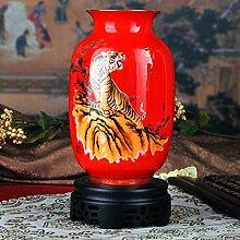 XOYOYO Royal Classic China Rot Keramik Vase