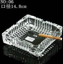 XOYOYO Wohnzimmer Tisch Glas Aschenbecher Ktv Bars