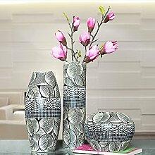 XOYOYO Yuhang Hand Geschnitzten Kunst Keramik Vase Hotel Wohnzimmer Tv-Schrank Dekoration Ideen