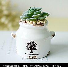 XPHOPOQ Ländlichen Stil Topfpflanzen Indoor Esstisch Büro Dekoration Weihnachten Geschenk künstliche Blumen C