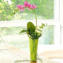 XPHOPOQ Moderner Stil die Orchidee künstliche Blumen Outdoor Party Hochzeit Dekoration Rosa