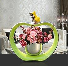 XPHOPOQ Neuer Absatz Home Dekoration Europäischen Modern Stil Künstliche Blumen Rosa