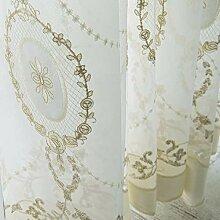 XPY-Curtain Gardine Vorhänge Gardinen Baumwolle