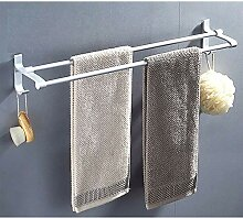 XPY-Towel rack Aluminium Doppelstock Badezimmer
