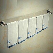 XPY-Towel rack Badezimmer frei Stanzen Edelstahl