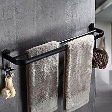 XPY-Towel rack Badezimmer mit Haken Doppelstock