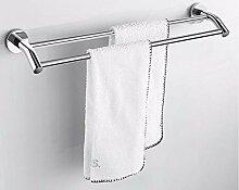 XPY-Towel rack Edelstahl Badezimmer Doppelstock
