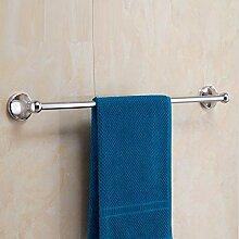 XPY-Towel rack Edelstahl einpolig Badezimmer 50cm