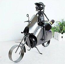 XQElect Weinregal Metall Motorrad Match Modern