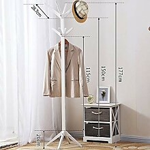 XQY Haushalt Wand Kleiderbügel, Holz Kleidung