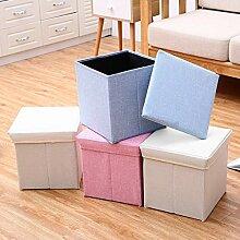 XQY Home Stuhl Hocker Klappstuhl-Aufbewahrung