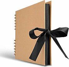 XRROOK Sammelalbum, Fotoalbum Memory Book 80