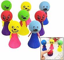 Xrten 8 Stücke Springbälle Spielzeug,Kinder