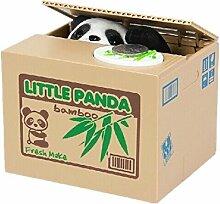 Xrten Elektronische Panda Spardose,Niedlich Piggy