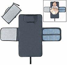 Xrten Tragbar Baby Wickelunterlage,Wasserdicht