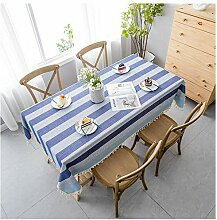 XRXDSY Tischdecke Rechteck, Baumwolle und Leinen