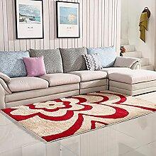 XRXY Verschlüsselung Verdickung Bright Seidenteppich / Wohnzimmer Couchtisch Teppich / Schlafzimmer Nachttisch Rutschfeste Fußauflage ( Farbe : O , größe : 120*170cm )