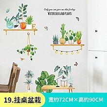 XsBZ wandaufkleber Wohnzimmer wandaufkleber Blumen