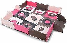 Xsj Kinder Teppich Kissen Puzzle-Spielmatte