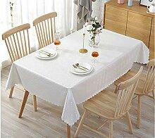 xsongue Tablecloth Tablecloth Rechteckiges PVC
