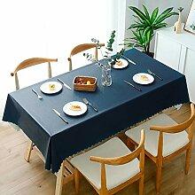XTUK Home Decoration Tischdecke einfarbig PVC