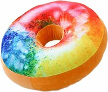 Xuan S Donut-Form-Plüsch-dekoratives