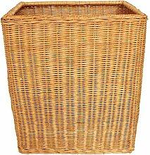 Xuan - worth having Gelb Rattan Finishing Korb Schmutzig Kleidung Korb Schmutzig Kleider Lagerung Korb Natürliche Pflanze Rebe Pure Hand Weaving