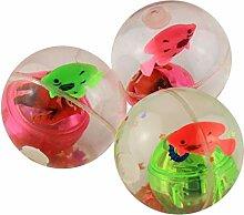 XuBa 1 Stück zufällige Farbe Flash Ball Kinder
