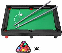 XuBa Kinder Billard Mini Snooker Tisch Desktop