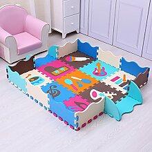 XuBa Spielmatte für Babys, Schaumstoff,