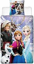 XUDO Disney Frozen Kinder-Wende-BETTWÄSCHE DIE