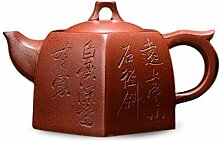 XueQing Manuelle Teekanne für 6 Partys (Farbe: