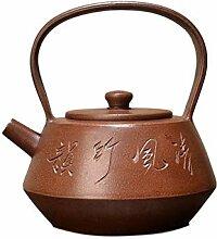 XueQing Teekanne für die Wand (Farbe: Braun)