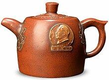 XueQing Teekanne für Teekanne (Farbe: Braun)