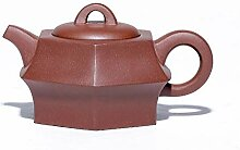 XueQing Teekanne für Teekanne, fein, sechseckig,