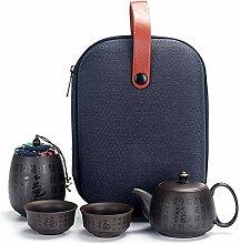 XueQing Teekanne für unterwegs, tragbares Paket,