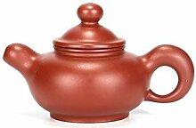 XueQing Teekanne mit Pfanne, handgefertigt,