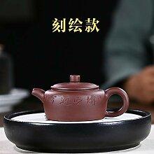 XueQing Teekanne / Teekanne / Teekanne mit Gravur,