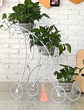 XUEWENZHE Blumenständer Europäische - Stil Eisen